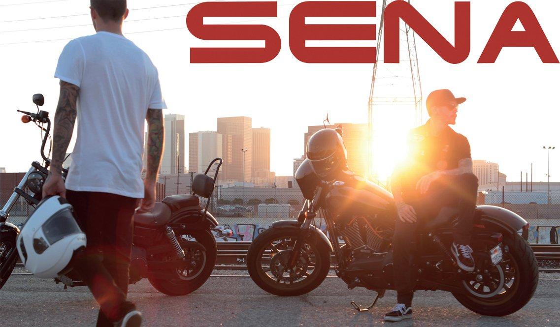 Sena-headset og Motorcykelhjelme