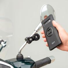SP Connect 360 ° spejlebeslag MIRROR MOUNT PRO til mobiltelefoner moped mobiltelefoner smartphones