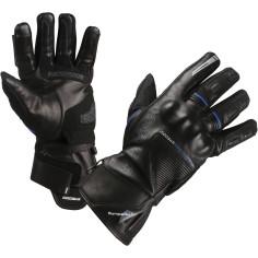 Modeka motorcykelhandsker NERANO fuldt læder Sympatex SuperFabric CE Stretch Touch Tip