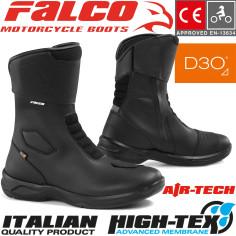Falco motorcykelstøvle LIBERTY 2.1 vandtæt med High-Tex-Membrane CE og D3O beskyttere