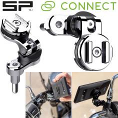 SP Connect motorcykelstyrets beslag CLUTCH MOUNT PRO til smartphone-mobiltelefon