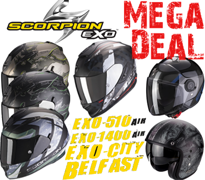 Scorpion Mega Sale