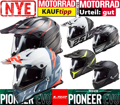 Nyhed LS2 MX436 Pioneer Evo