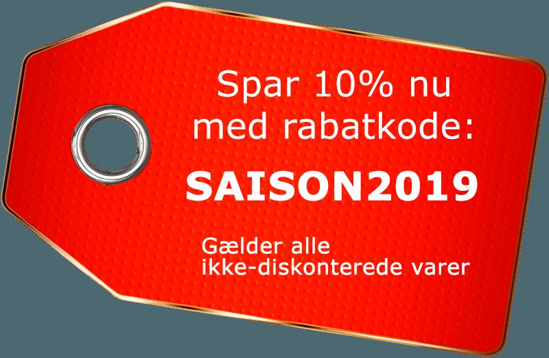 Spar 10% på ikke-reducerede varer
